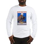 Keep Him Free Eagle Long Sleeve T-Shirt