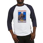 Keep Him Free Eagle (Front) Baseball Jersey
