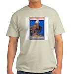 Keep Him Free Eagle Ash Grey T-Shirt