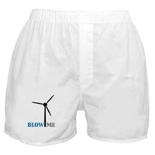 Blow Me (Wind Turbine) Boxer Shorts
