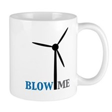 Blow Me (Wind Turbine) Mug