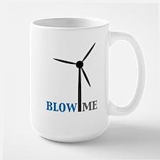 Blow Me (Wind Turbine) Large Mug