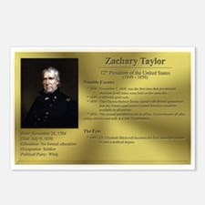12: Zachary Taylor Postcards (8 Pack)