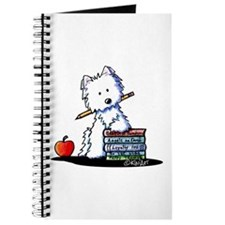 Back To School Westie Journal