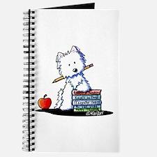 Back To School Westie Journal