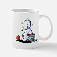 Back To School Westie Mug