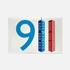 911 - Never Forget Rectangle Magnet