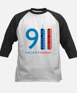 911 - Never Forget Kids Baseball Jersey