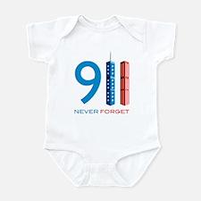 911 - Never Forget Infant Bodysuit