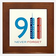 911 - Never Forget Framed Tile