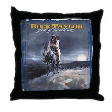 Moonlight Trail Throw Pillow