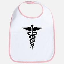 Medical Symbol Caduceus Bib
