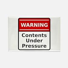Contents Under Pressure Rectangle Magnet