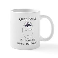 3-quietplease1 Mugs