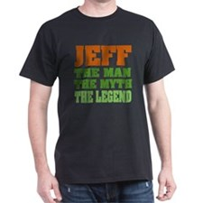 JEFF - The Legend Black T-Shirt