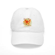 Fort Myers Beach Flowers Baseball Cap