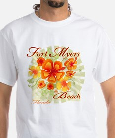 Fort Myers Beach Flowers Shirt