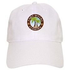 Fort Myers Palm Trees Baseball Cap