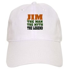 JIM - The Legend Baseball Cap