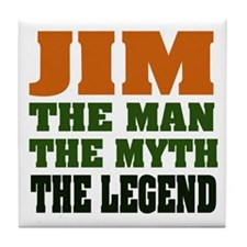 JIM - The Legend Tile Coaster