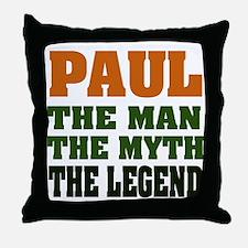 PAUL - The Legend Throw Pillow