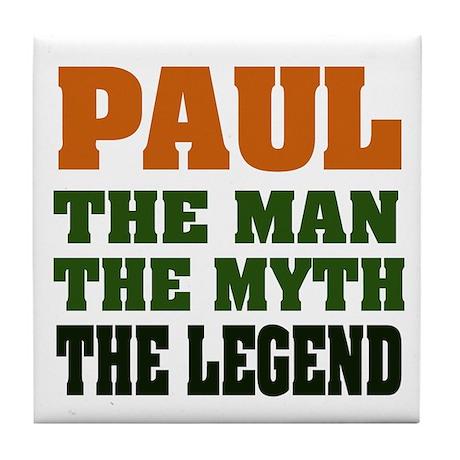 PAUL - The Legend Tile Coaster