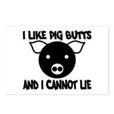 I Like Pig Butts and I Cannot Postcards (Package o