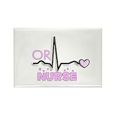 Registered Nurse Specialties Rectangle Magnet (100