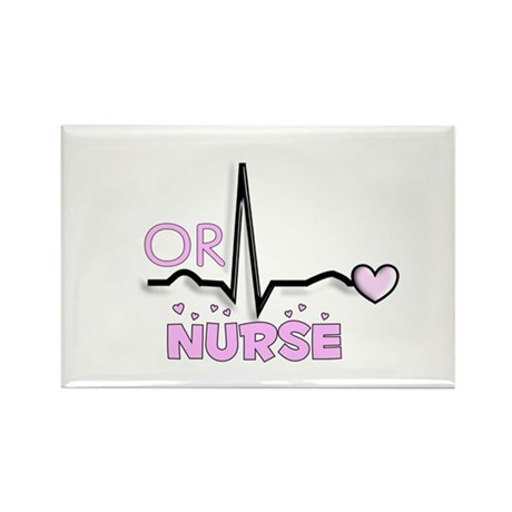 Registered Nurse Specialties Rectangle Magnet (100