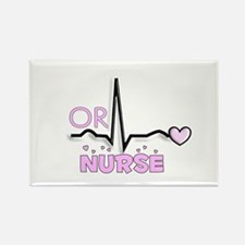 Registered Nurse Specialties Rectangle Magnet (10