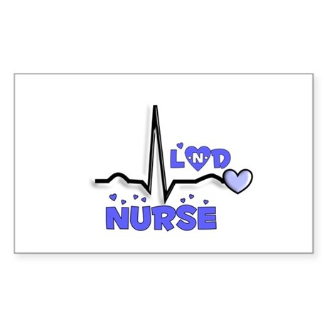 Registered Nurse Specialties Sticker (Rectangle 10
