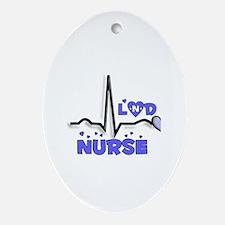 Registered Nurse Specialties Ornament (Oval)