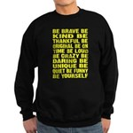 Just Be Sweatshirt (dark)