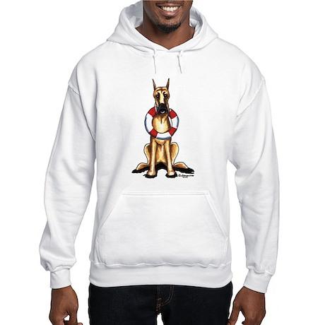Great Dane Rescue Hooded Sweatshirt