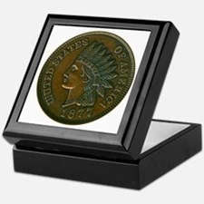The Indian Head Penny Keepsake Box