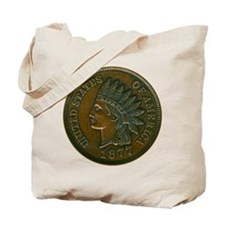 The Indian Head Penny Tote Bag
