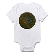The Indian Head Penny Infant Bodysuit