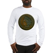 The Indian Head Penny Long Sleeve T-Shirt