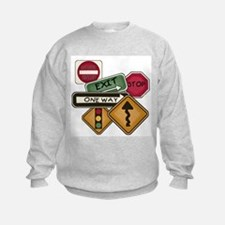 Road Signs Sweatshirt
