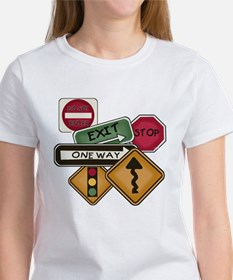 Road Signs Women's T-Shirt