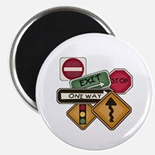 """Road Signs 2.25"""" Magnet (10 pack)"""