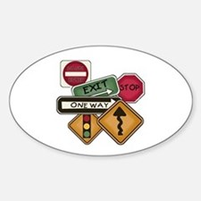 Road Signs Decal