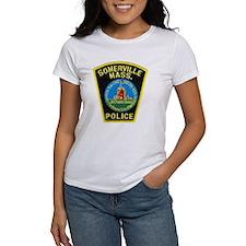 Somerville Mass Police Tee