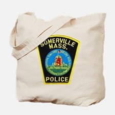 Somerville Mass Police Tote Bag