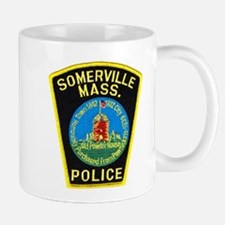 Somerville Mass Police Mug