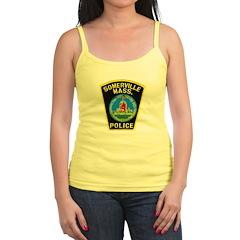 Somerville Mass Police Jr. Spaghetti Tank