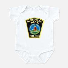 Somerville Mass Police Infant Bodysuit