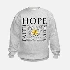 Hope Childhood Cancer Sweatshirt