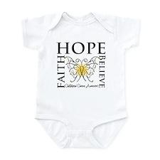 Hope Childhood Cancer Infant Bodysuit