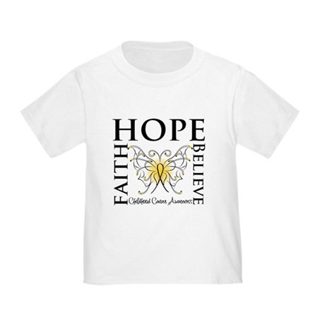 Hope Childhood Cancer Toddler T-Shirt